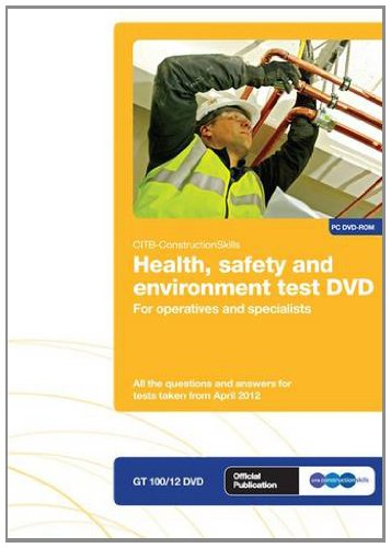 CSCS test Revision DVD for operatives and specialists