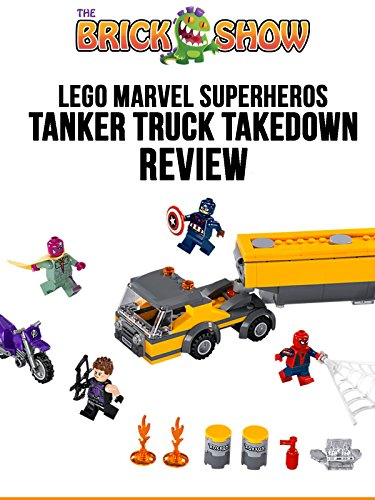 LEGO Marvel Superheroes Tanker Truck Takedown Review (76067)