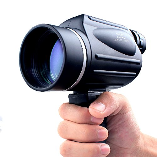 USCAMEL® 13x50 Reticle Monocular Powerful Telescope Big Eyepiece Bird Watching (Giant Slide Rule compare prices)