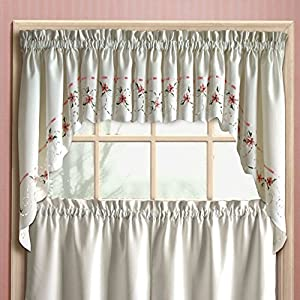 United Curtain Rachael Kitchen Valance Home