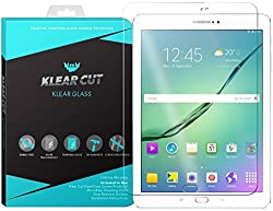 Klear Cut KlearGlass - 9H Hardness Tempered Glass Screen Protector for Samsung Galaxy Tab S2 9.7 with Lifetime Replacements / 99.9% HD Clear / Shatterproof and Anti-Bubble Ballistic Glass