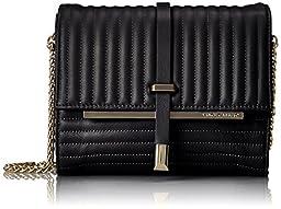 Vince Camuto Leila Shoulder Bag, Raven, One Size