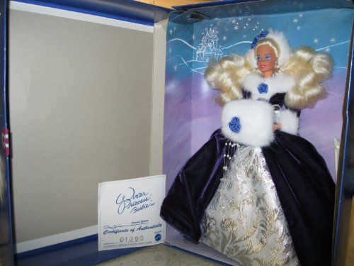 Review for Winter Princess Barbie 1993 1st in Series Ltd Ed NRFB