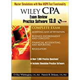 Wiley CPA Examination Review Practice Software 13.0, Complete Set ~ Patrick R. Delaney