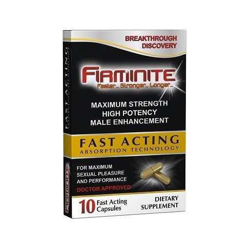 Firminite Natural Male Enhancement Erection Pills - Works In 30 Minutes - Long Lasting Erections Plus Stamina & Energy to Last Longer - Best Natural Male Enhancement Pills (10 Capsules)