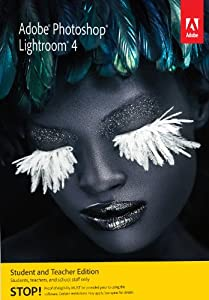 Adobe Photoshop Lightroom 4 Student and Teacher Edition [Download] [Old Version]