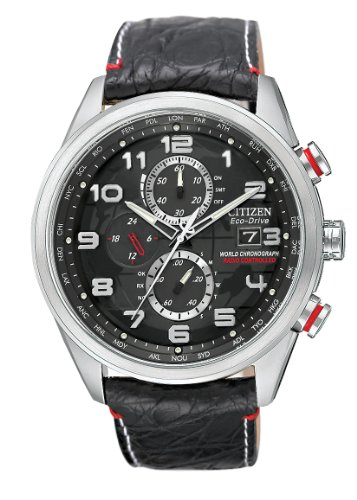 Citizen Men's AT8030-18F Eco-Drive Limited Edition World Chronograph A-T Watch