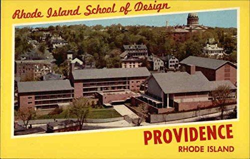 Rhode Island School Of Design Providence Original Vintage Postcard