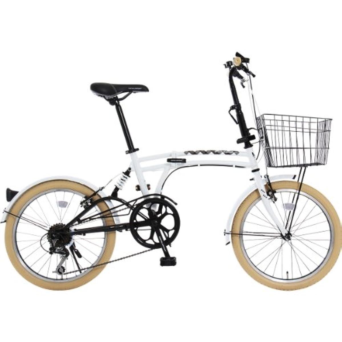 [해외] DOPPELGANGER(DOPPEL GANGER) 접이식 자전거 m6시리즈 20인치 패러럴 트윈 튜브 프레임 채용 모델 바구니・(자동차 등의) 흙받이 부착