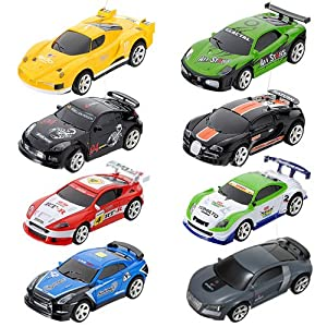 coke can mini rc radio remote control micro racing car toy. Black Bedroom Furniture Sets. Home Design Ideas