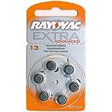 6 Stück Rayovac Hörgeräte-Batterie 13, 310mAh