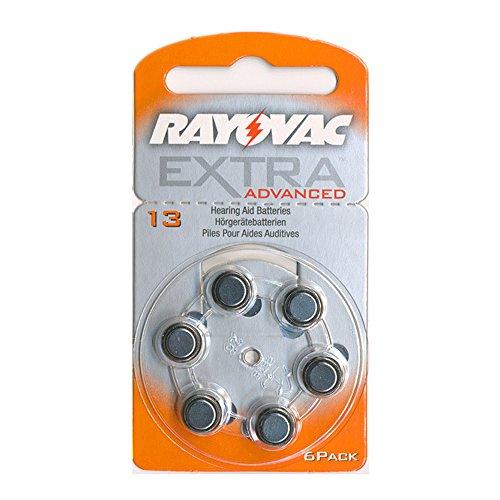 6-stuck-rayovac-horgerate-batterie-13-310mah