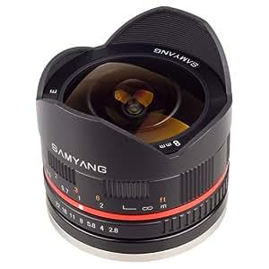 Samyang 8mm F2,8 Fuji X Noir - Fisheye