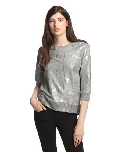 MODERNSAINTS Women's Metallic Raglan Top