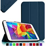 Fintie Samsung Galaxy Tab 4 7.0 (7-Inch) Smart Shell Case - Ultra Slim Lightweight Stand Cover, Navy