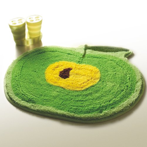 Naomi - [Green Apple] Kids Room Rugs (20.9 by 22 inches)