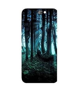 Deep Dark Forest HTC One A9 Case