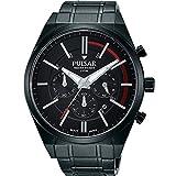 [セイコー パルサー]SEIKO PULSAR 100m防水 クロノグラフ 腕時計 メンズ PT3705 [並行輸入品]