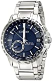 Citizen Men's CC3000-89L Satellite Wave Analog Display Japanese Quartz Silver Watch