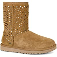 UGG Classic Short Flora Perf Womens Boots (Multiple Colors)