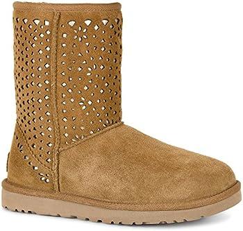 UGG Classic Short Flora Perf Womens Boots