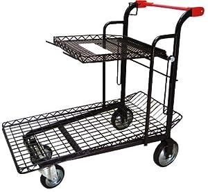 Tierra Garden 35211 E-Cart 40-1/4-Inch, Black