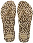 Havaianas Slim Animals Sand Grey Leop...