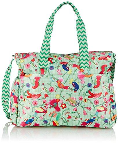Oilily Womens Oilily Baby Bag Shoulder Pink Size: 42x34x16 cm (Grün (Pistachio 716))