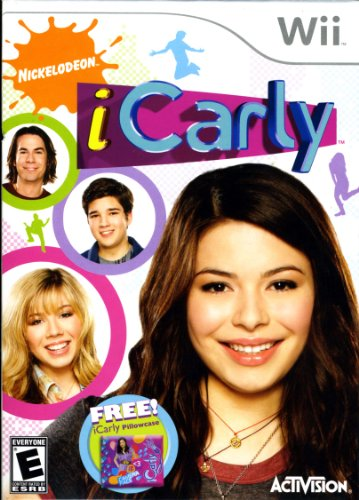 iCarly with Pillow Case - Nintendo Wii - 1