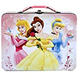 Disney Princess Tin Lunch Box With Belle & Others