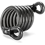 Etronic ® Security M7L Self Coiling Looped End Cable, 6-Feet x 1/2-Inch
