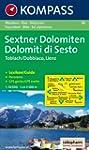 Carte touristique : Sextner Dolomiten