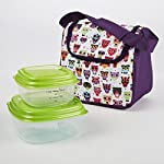 Morgan Kids' Lunch Bag Kit with Fresh Selects Set (Hoot)