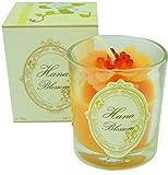 Hana Blossom Small Handmade Fairtrade Soy Wax Blend and Scented with Jasmine Fragrance