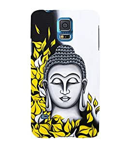Prasanna Buddha 3D Hard Polycarbonate Designer Back Case Cover for Samsung Galaxy S5 Mini :: Samsung Galaxy S5 Mini G800F