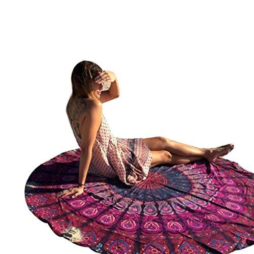 Fortan-Runde-Mandala-Strandtcher-Heimdecke-Tischdecke-Yoga-Matte