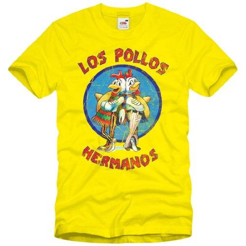 style3 Los Pollos Hermanos T-Shirt Herren Breaking Bad