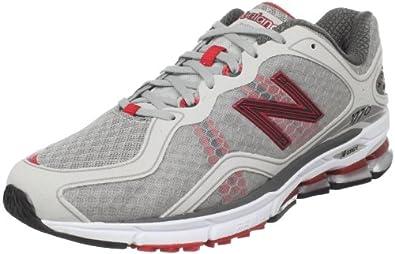 New Balance Men's MR177 Running Shoe,Red/Grey,7 D US
