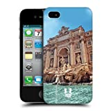 Head Case Designs Trevi Fountain Rome Italy A Glimpse of Rome Protective Snap-on Hard Back Case Cover for Apple iPhone 4 4S