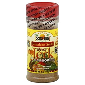 Ocho Rios Seasoning Spicy Jerk 4 - Ounce Pack Of 6 from Ocho Rios
