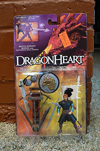 1995 Kenner Dragon Heart Brave Knight Bowen With Battering Bola Tripod