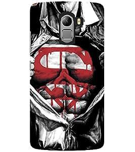 Evaluze superhero Printed Back Cover for LENOVO K4 NOTE