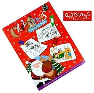 Noël à colorier - Grafix - 256 pages - Taille 297mm x 210mm