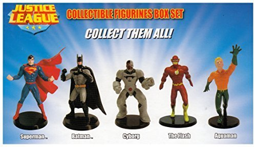 DC Comics Justice League Collectible Figurines Box Set