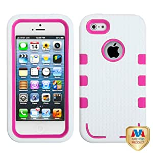 Mybat Iphone5Hpctuffen014Np Premium Tuff Enuff Case For Iphone 5 - 1 Pack - Retail Packaging - Natural Hot Pink...