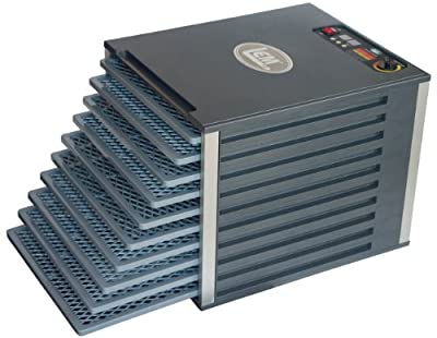 LEM Products 10 Tray Food Dehydrator with Digital Timer by LEM Products