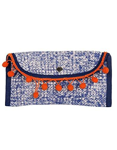 antike gef rbter baumwolle durrie konstrukteur blauer beutel f r frauen von rajrang. Black Bedroom Furniture Sets. Home Design Ideas