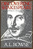 Discovering Shakespeare: A Chapter in Literary History (029779633X) by Rowse, A. L.