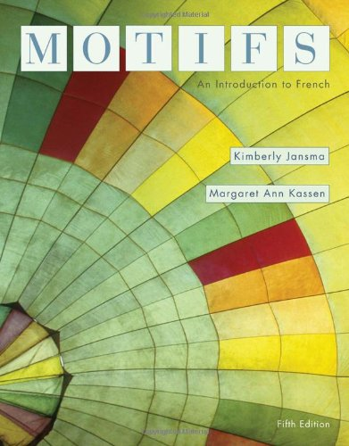 Motifs: An Introduction to French (Available Titles iLrn:...