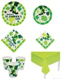 St. Patrick s Day Tableware Party Pack (57 Pieces)
